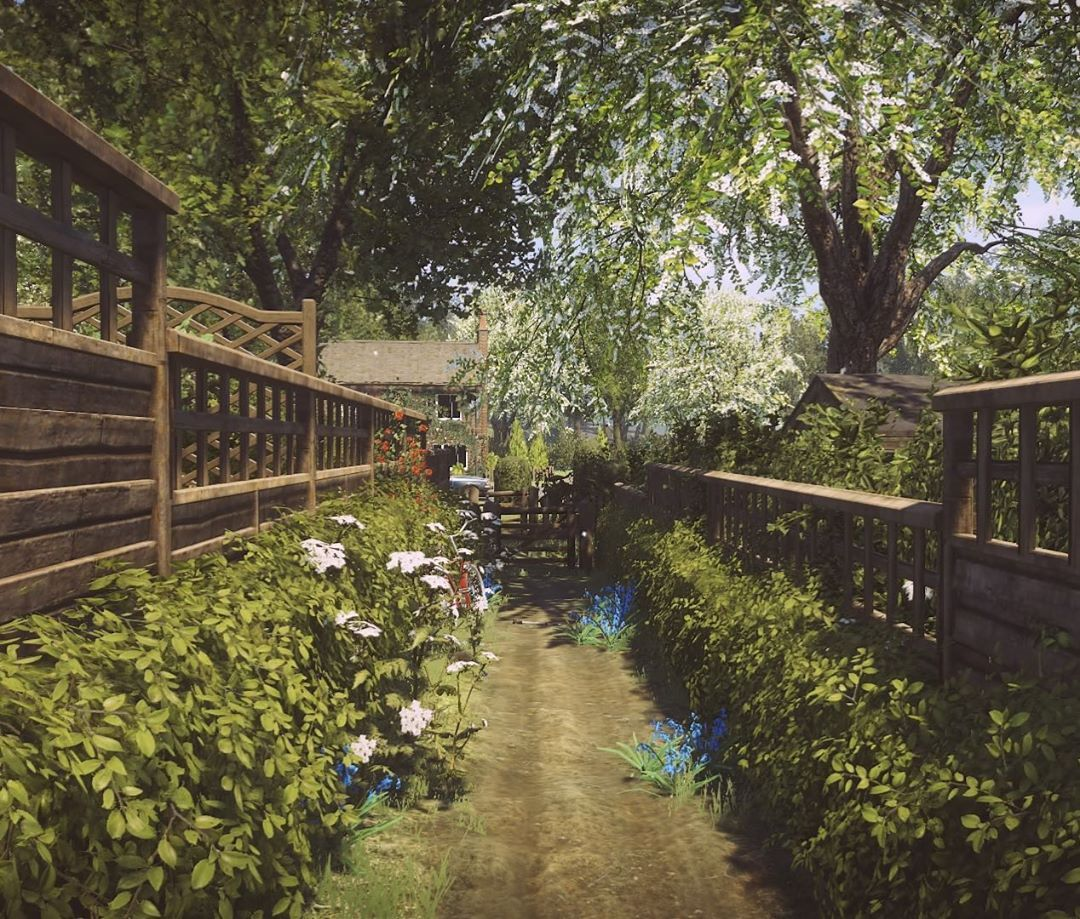 Nothing like a well tended garden. But where is the gardener? -Player1 # garden #gardener #whereiseveryone #everybodysgonetotherapture #vi… | Garden,  Outdoor, Vista