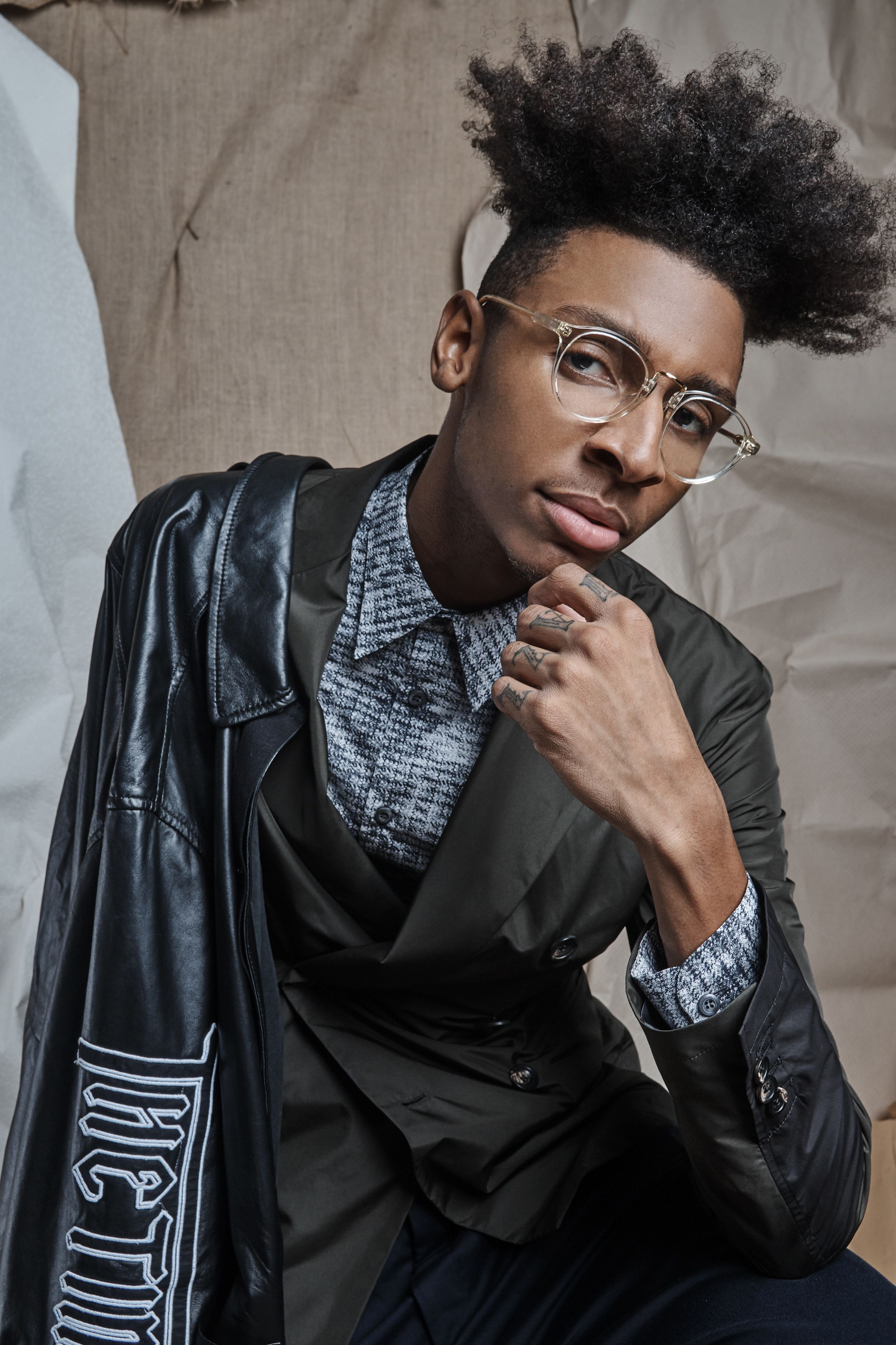 Philipp Raheem Masego For Nation Of Billions Glasses In 2018
