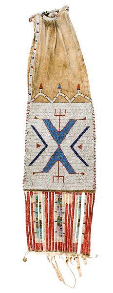 sioux quillwork | American Indian Art > .Plains > Beadwork & Quillwork