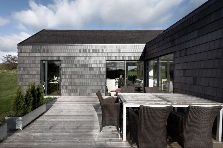 Danish Home Champions Wood Over Concrete For Lower Carbon Emissions Green Roof System Roofing Roofing Options
