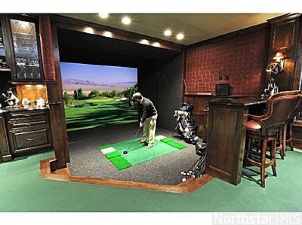 Photo of Save your money: Bring the driving range home! #recreationalroom #recreational #…