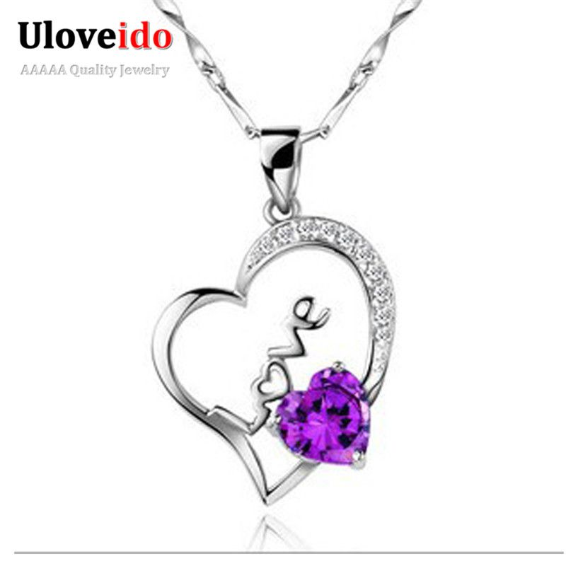 woman more find about pendant purple information heart pin diamond necklaces accessories