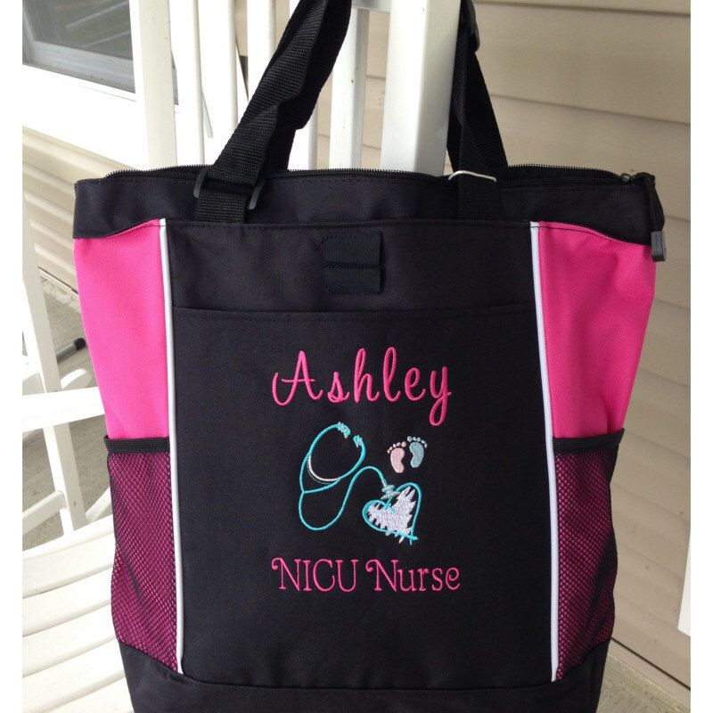 Personalized Tote Bag Nurse Physician Medical Assistant RN