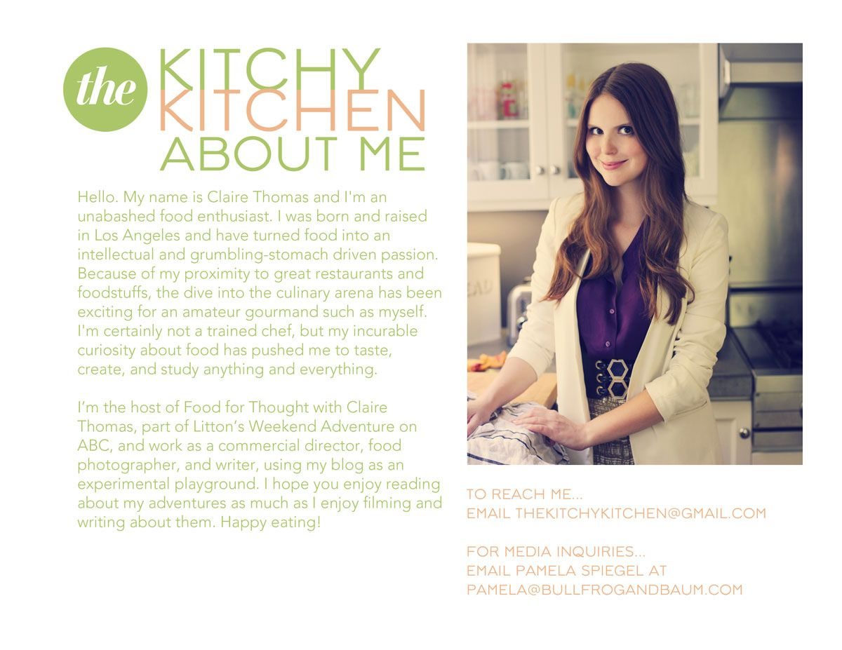 About the Kitchy Kitchen | Blog Girls | Pinterest | Mochi
