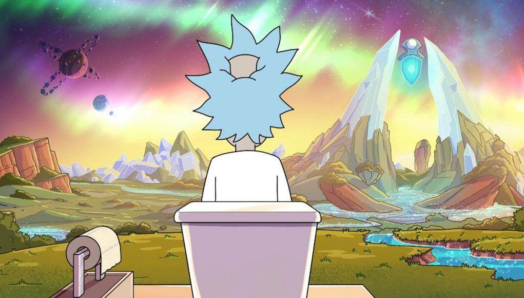 Ricks Toilet Fondos De Escritorio 4k Personajes De Rick Y Morty Fondos De Pantalla Psicodelicos