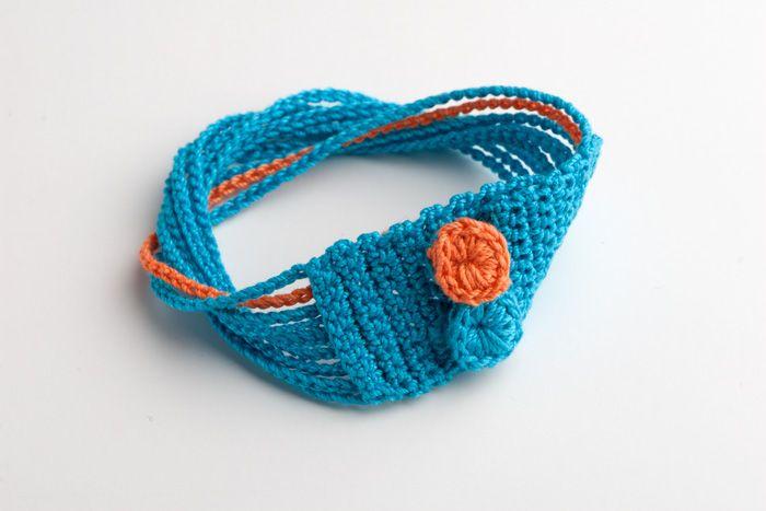 Crocheterie: Crochet Pattern Bracelet (free)
