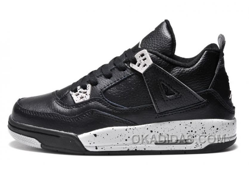 Big Discount 66 OFF Womens Air Jordan 4 Retro GS Oreo Remastered For 2015 For Sale