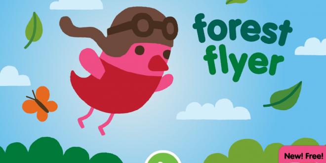 Application jeu Forest Flyer AppEnfant.Fr Jeux