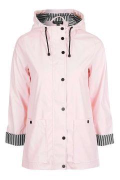 475e18c1d Pale Pink Ivy Rain Mac Topshop Coats, Petite Coats, Rain Jackets, Rain Coats