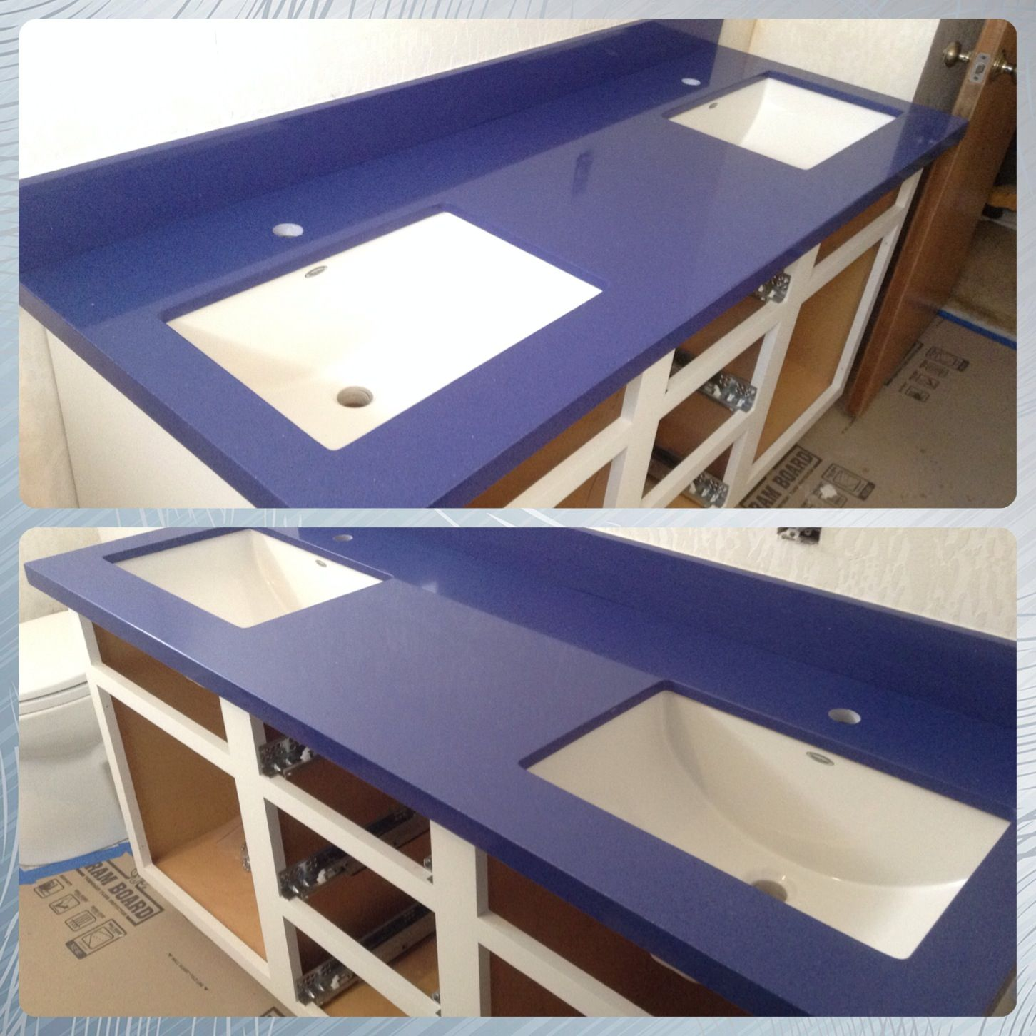 New Bala Blue Quartz Counter Top By Cambria Installed By Stone Etc Inc