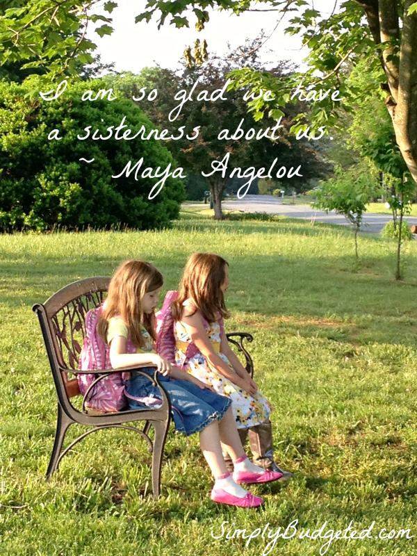 A Sisterness About Us Quotes Maya Angelou Quotes Sweet Sister