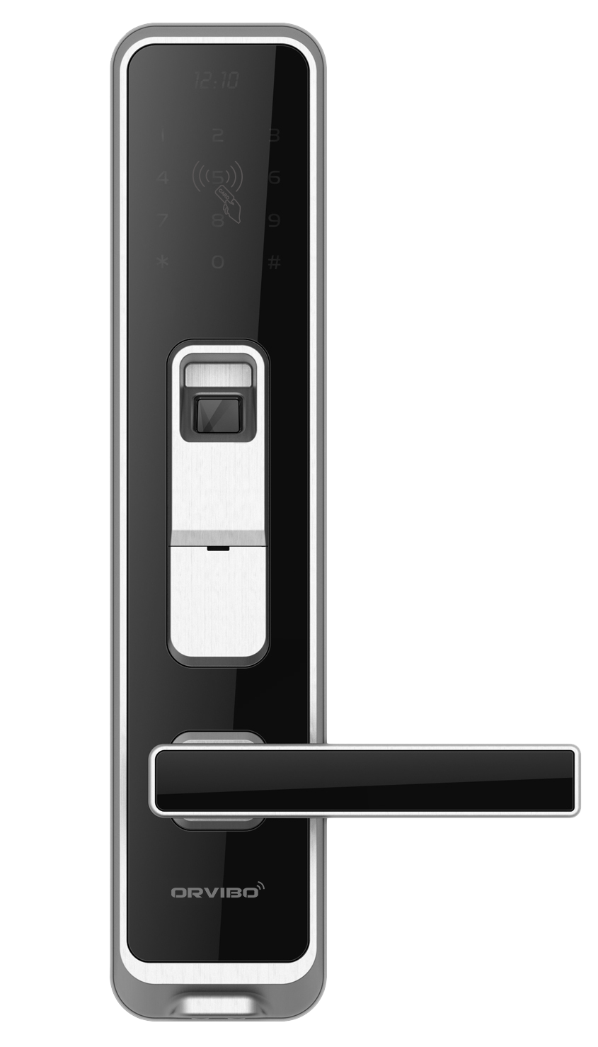 With Orvibo Smart Home Lock No Worry About Forgetting The Keys Or Cards Orvibo Smart Door Lock Has 5 Ways Of Acc Smart Home Locks Smart Door Locks Door Locks