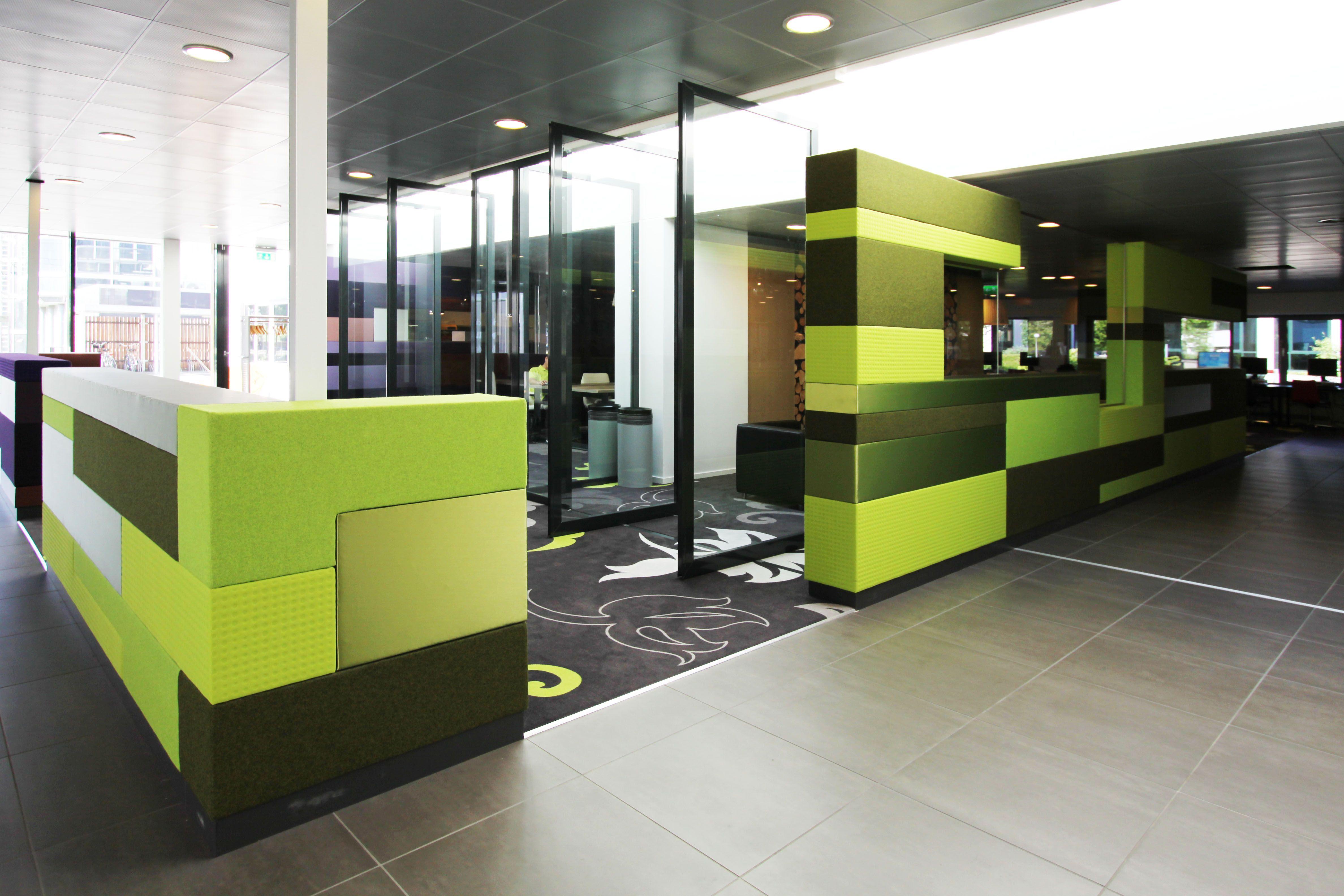 wanden bekleed #interieur school meubilair - In Holland, Hoofddorp ...