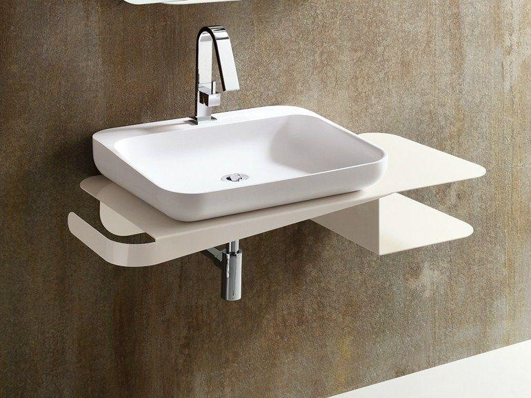 TULIP Mobile lavabo sospeso by ARBLU | Robineterie et sanitaires ...