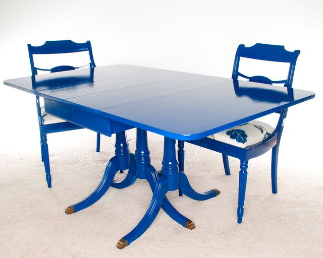 Best Excellent Ideas Blue Dining Table Stylish Cobalt Blue 400 x 300