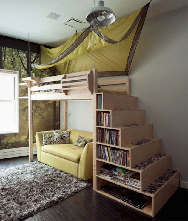 marvelous space saving furniture kids rooms | 17 Marvelous Space-Saving Loft Bed Designs Which Are Ideal ...