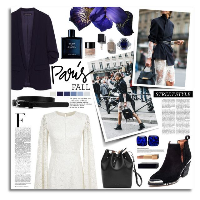 """""""Le Paris"""" by kumi-chan ❤ liked on Polyvore featuring Jovani, Jeffrey Campbell, Mansur Gavriel, Nicki Minaj, BERRICLE, Chanel and Pieces"""