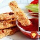 Chrumkavé kuracie prsty so sezamom