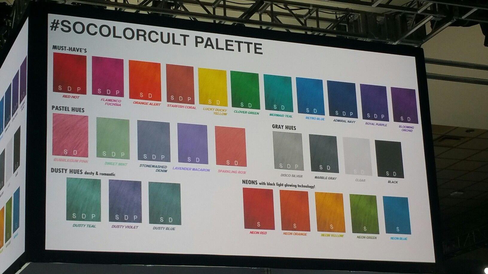 Matrix Socolorcult Colors Finally What Artist Have Been Waiting For Excited Color Trends 2018 What Is An Artist Color Trends