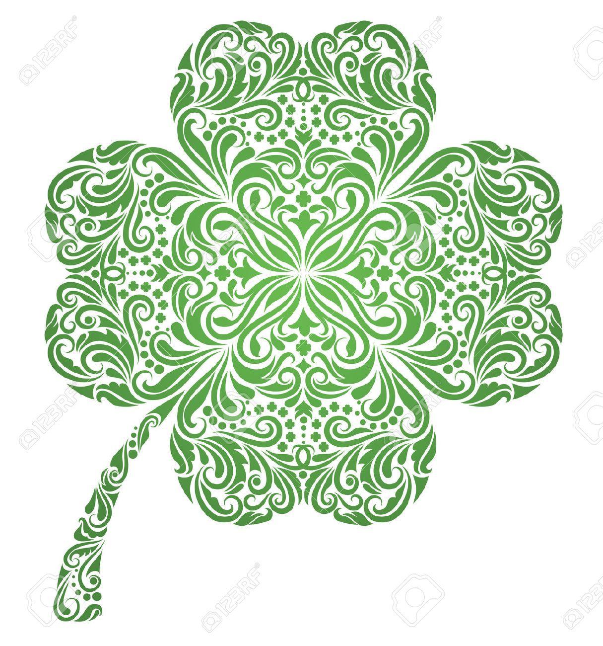 Celtic Four Leaf Clover Tattoo Google Search Clover Tattoos Four Leaf Clover Tattoo Irish Tattoos,Modern Front Gate Landscape Design