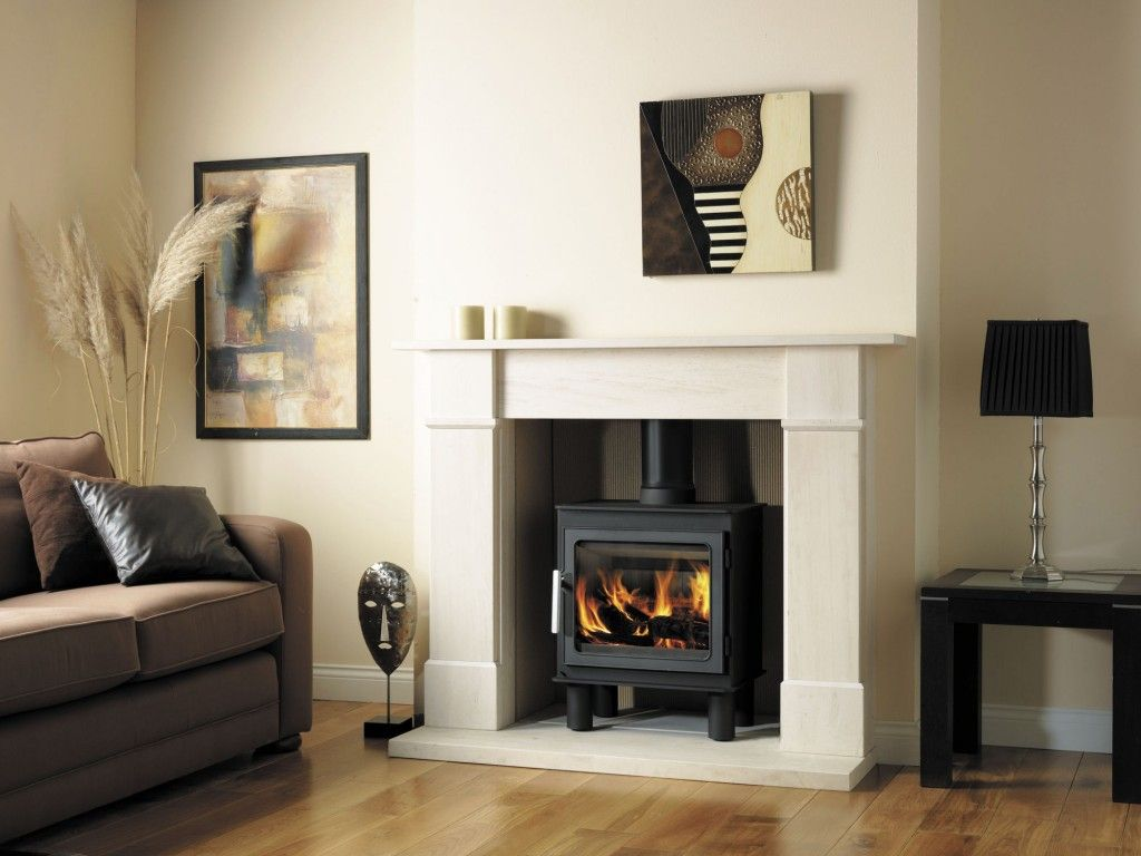 Great Wood Burning Stoves Design In White Living Room Design Fascinating Chimney Living Room Design Design Decoration