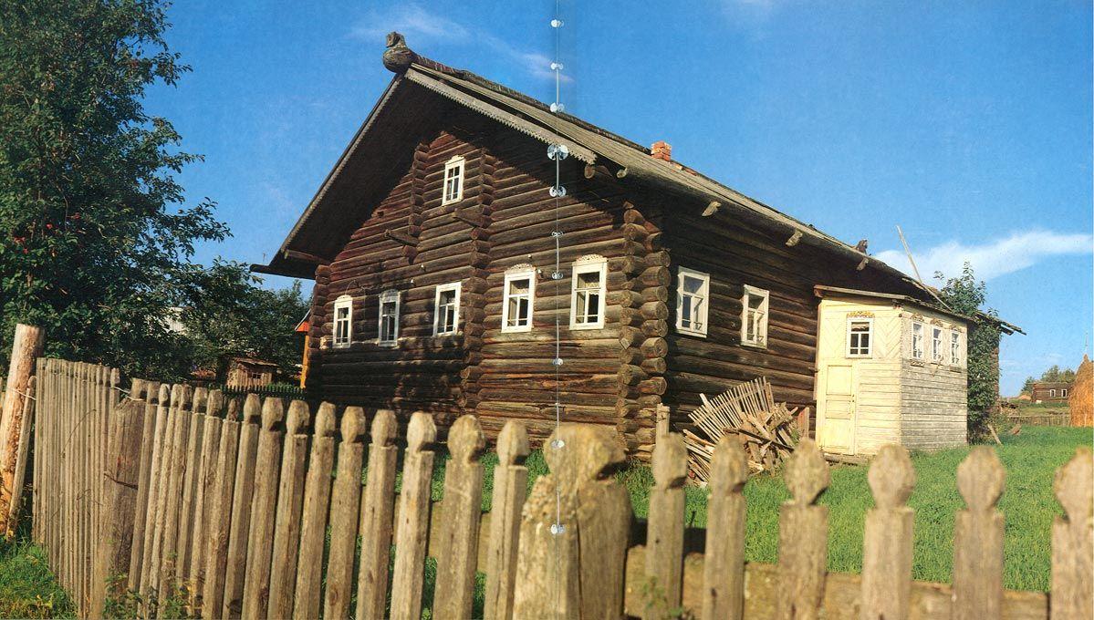 Деревня сенное тарногского района с фото