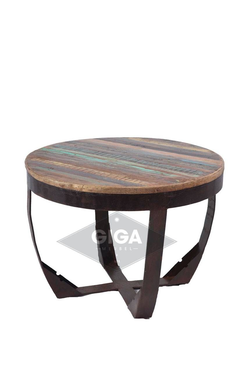 Salontafel Rond Industrieel Salontafel Botenhout In 2019 Salontafel Home Decor Home En