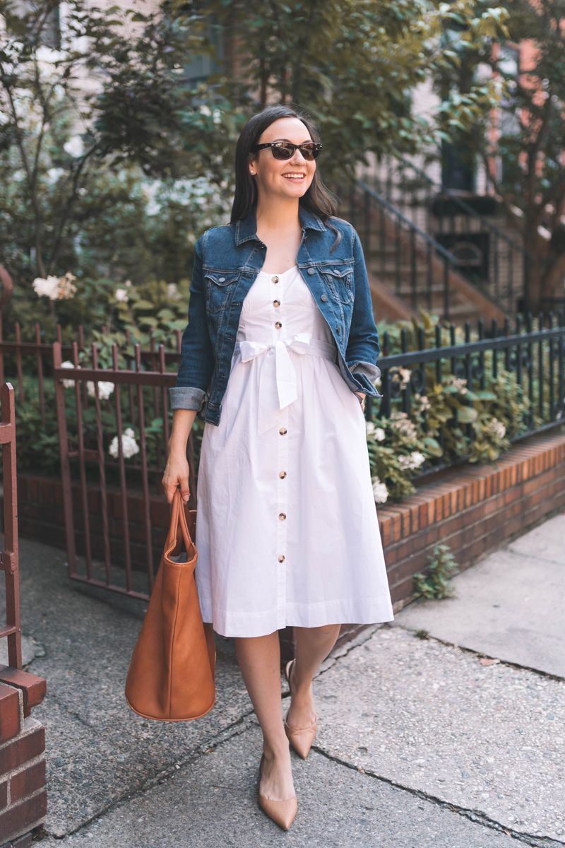 Just Add A Denim Jacket Carly Jacket Outfit Women Stylish Dress Designs Summer Dress Outfits [ 1200 x 800 Pixel ]