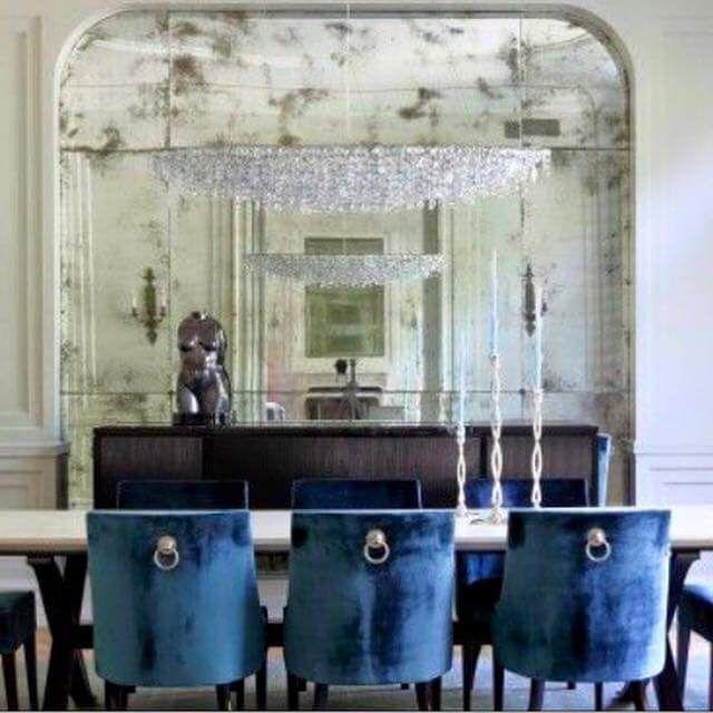 Smokey Mirrors Shades Of Blue Blue Grey Mirror