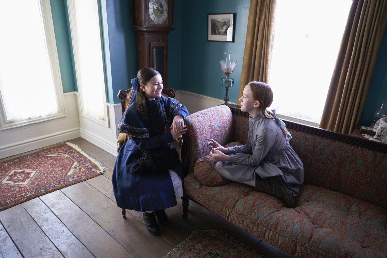 Anne With An E Amybeth Mcnulty And Dalila Bela Image 1 1