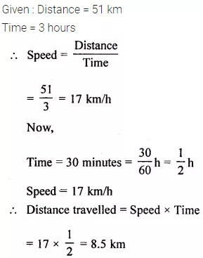Selina Concise Mathematics Class 6 Icse Solutions Chapter 17 Idea Of Speed Distance And Time Cbse Tuts Cbsetuts Selinaconcisem Mathematics Class Solutions