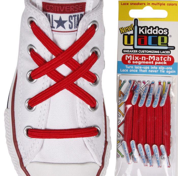 U-Lace Kiddos | No tie laces, Lace