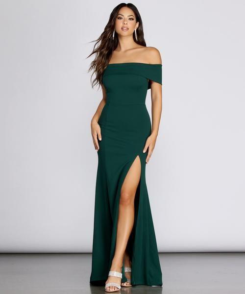 Layci Formal High Slit Dress