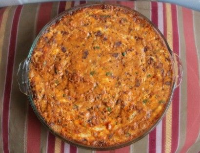 White Trash Dip - I have found my dip for the Duck Dynasty Party (I will not purchase camo but I will make this dip by george)