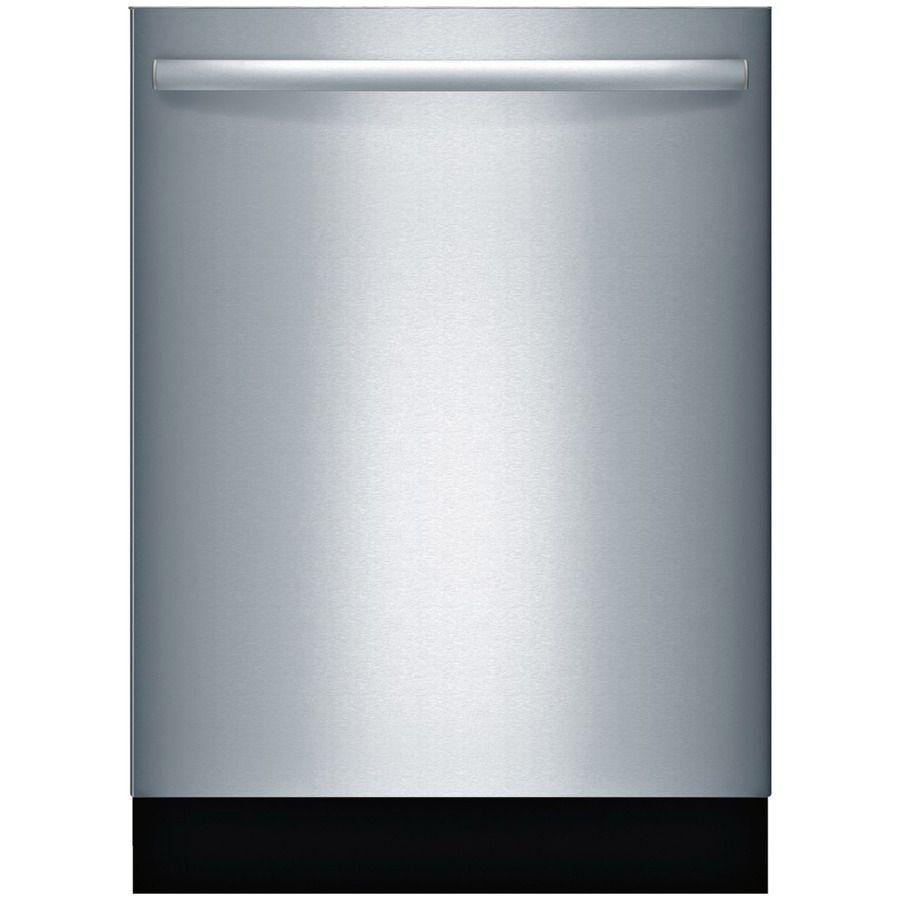 Bosch 800S 44-Decibel Built-In Dishwasher (Stainless Steel) (Common ...