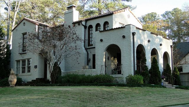 Spanish Mission Style Home Homewood Alabama By Cougar 6 Via Flickr