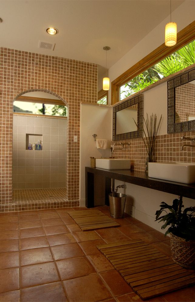 Roman Shower Stalls For Your Master Bathroom Master Bathrooms Tropical Bathroom And Bathroom