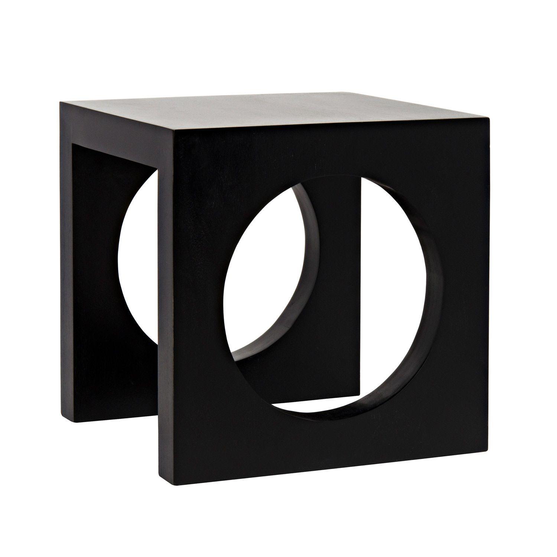 Noir Bunko Pale Side Table