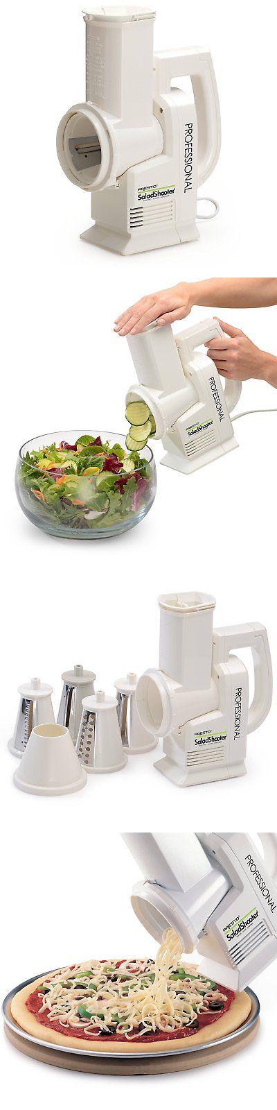 Food Processors 20673: Electric Slicer Shredder Professional Salad Shooter Chops  Vegetable Fruit Cheese  U003e