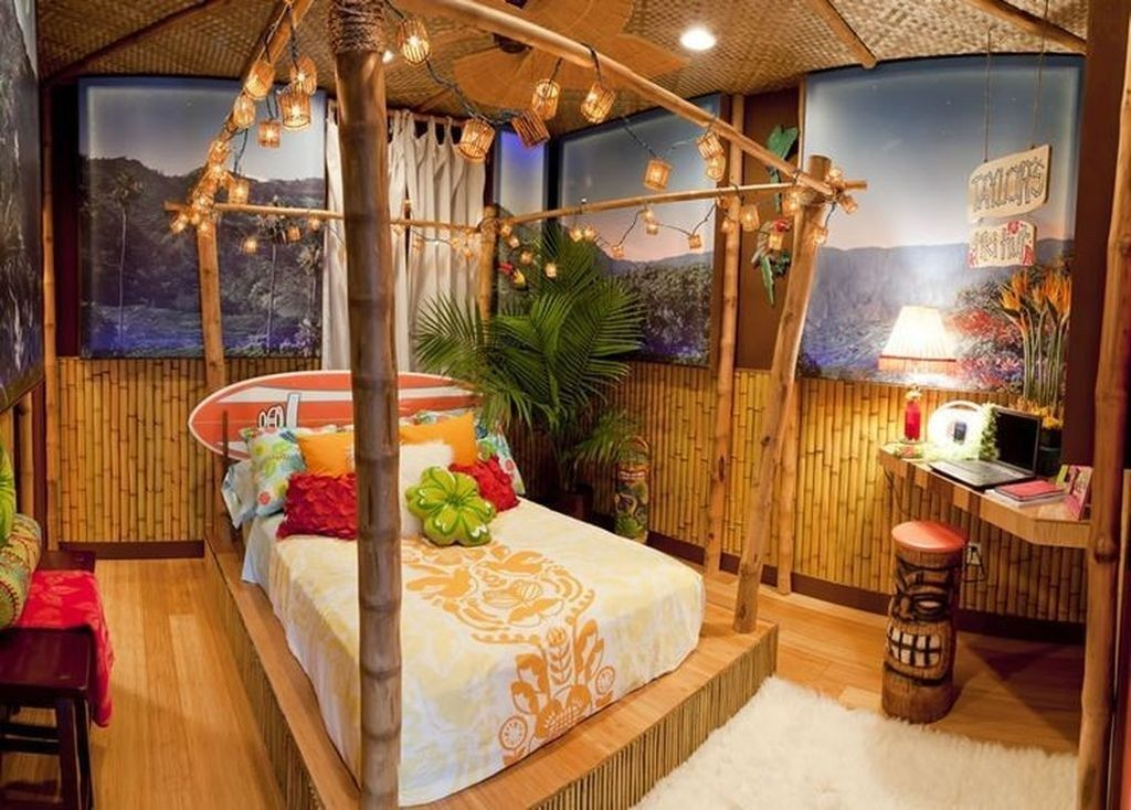 48 Amazing Hawaiian Home Decorating Ideas For Home Tropical