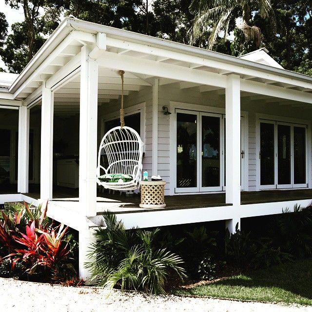 East Bay Homes For Rent: Hanging Out On The Weekend On Our Wrap Round Verandas. The