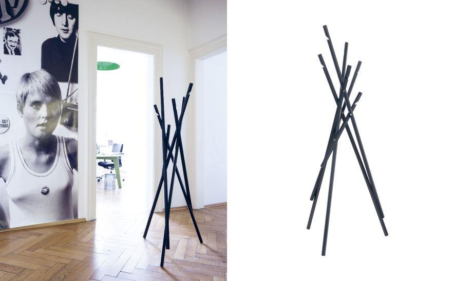 sticks sch nbuch garderobenst nder design michael schwebius interior design pinterest. Black Bedroom Furniture Sets. Home Design Ideas