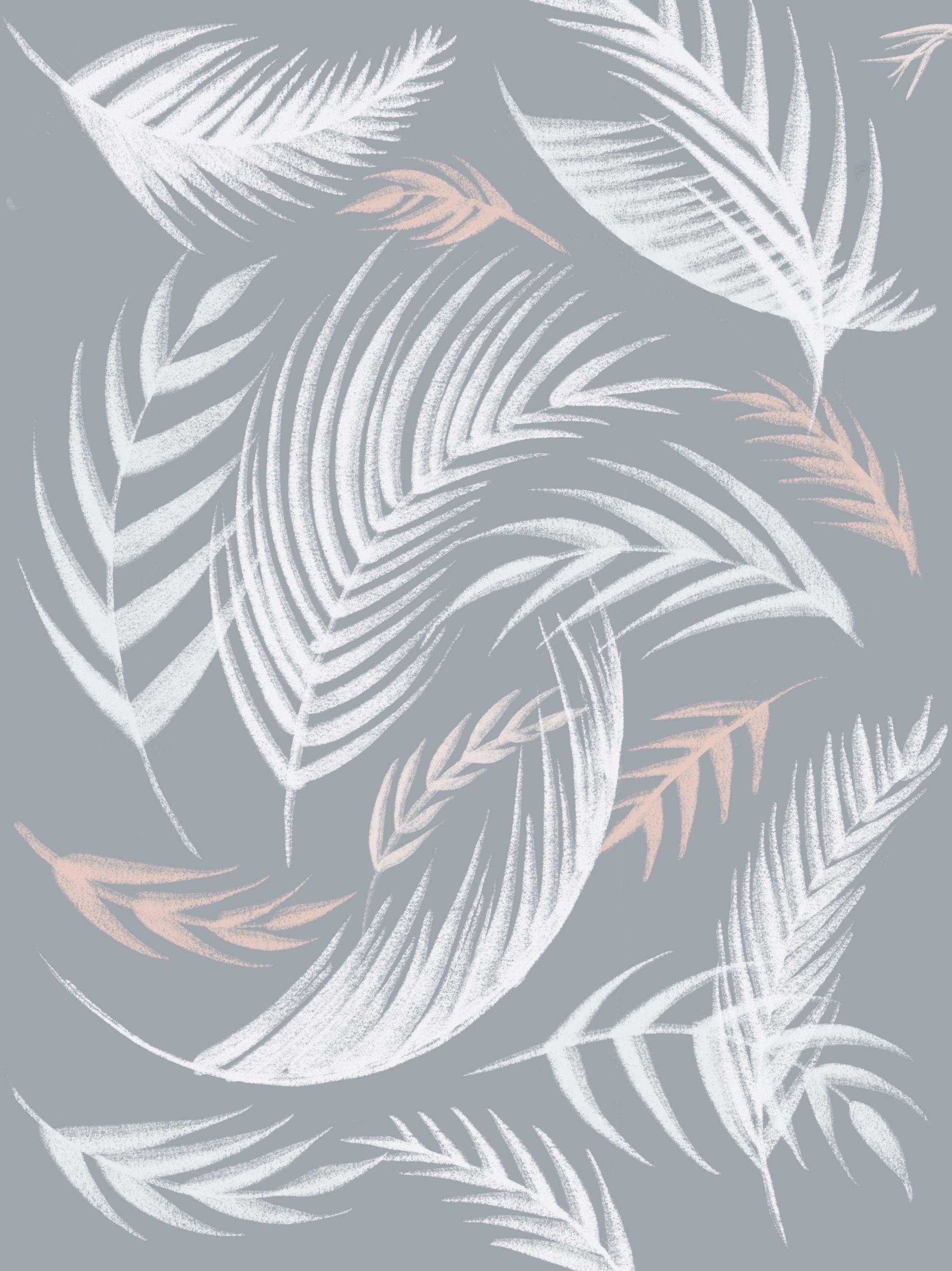 Light Grey Aesthetic Wallpaper