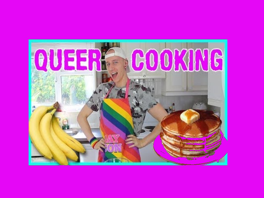 Delicious Queer recipies, especially the sweet rainbow, pink and other yummy stuff