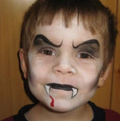 20 super cute halloween face paint ideas that even un
