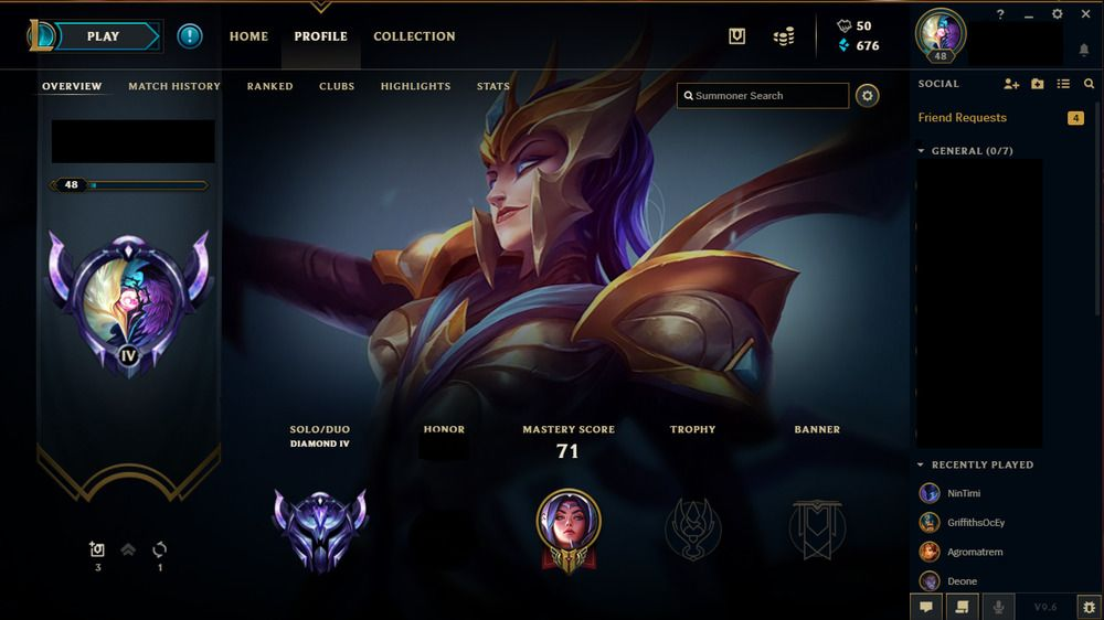 LOL EUW Diamond 4 High MMR/WR Victorious Elise and judgement