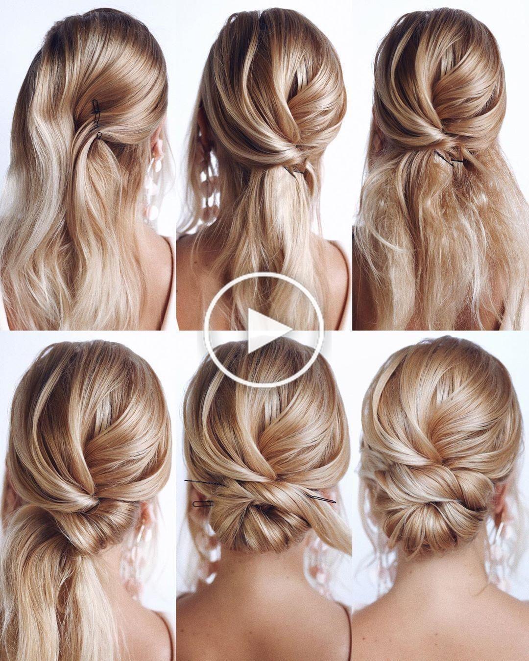 Herrlich und einfache Heimkehr Frisuren Tutorial Langes Haar in