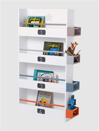Bücherregal fürs Kinderzimmer WEIß