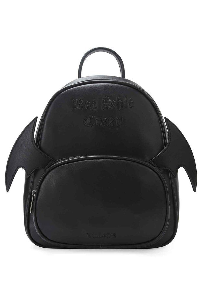 Bat Sh t Crazy Backpack  B    KILLSTAR All the best things have wings.  Keepin it cute and low key,  Bat Sh t Crazy  is a perfect wingman when yer  on the go ... c46b5fb6e5