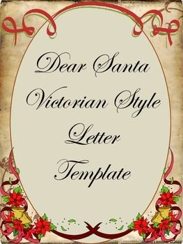 Go back in time with this old world style christmas letter template go back in time with this old world style christmas letter template your students can spiritdancerdesigns Gallery